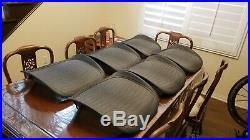 11x Herman Miller Aeron Size C Seat Pan BRAND NEW Tuxedo Mesh