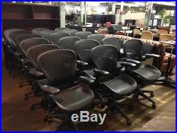 150 Herman Miller Aeron Chairs Size B