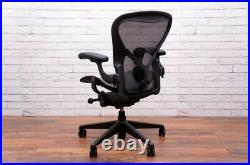 (2021) Herman Miller Aeron Remastered Chair Size B Fully Loaded With Posture Fit