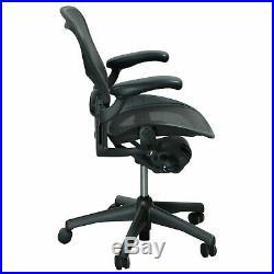 4 Herman Miller Aeron Mesh Desk Chair Medium Size B fully adjustable with lumbar