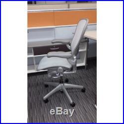 Aeron Chair by Herman Miller FULLLY LOADED Titanium Frame SIZE B MEDIUM