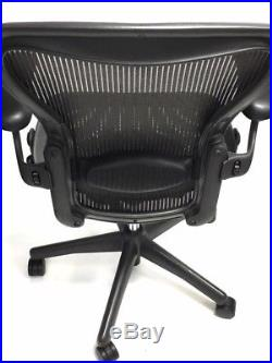 Aeron Fully-Loaded Lumbar Support Size B Grey Mesh (3D02) By Herman Miller