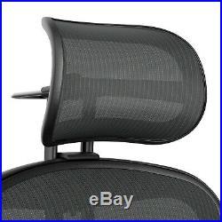 Atlas Suspension Headrest for Herman Miller Aeron Chair Remastered Graphite