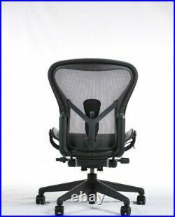 Authentic Herman Miller Aeron Chair, Armless, Size B DWR