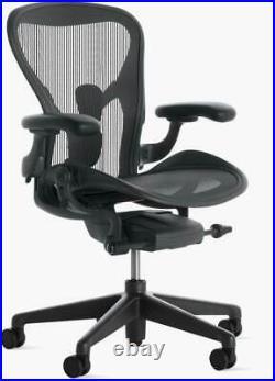 Authentic Herman Miller Aeron Chair, B Design Within Reach