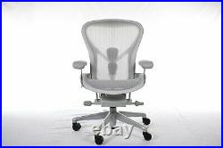 Authentic Herman Miller Aeron Chair B-Med Design Within Reach