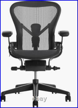 Authentic Herman Miller Aeron Chair, B-Med Design Within Reach