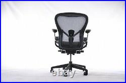 Authentic Herman Miller Aeron Chair, C Large Size Design Within Reach