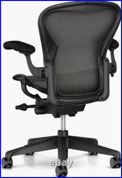 Authentic Herman Miller Aeron Chair, C-Size Large DWR