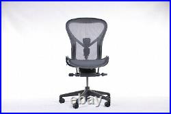 Authentic Herman Miller Aeron Chair, No Arms Size B Design Within Reach