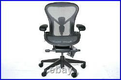 Authentic Herman Miller Aeron Chair Size-A Design Within Reach