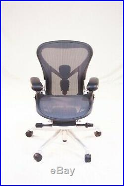 Authentic Herman Miller Aeron Chair, Size A Design Within Reach