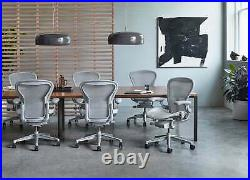 Authentic Herman Miller Aeron Chair Size- B Design Within Reach