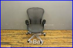 Authentic Herman Miller Aeron Chair Size B Design Within Reach