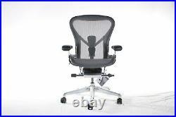 Authentic Herman Miller Aeron Chair Size B Medium Design Within Reach