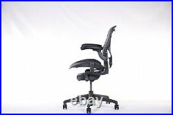 Authentic Herman Miller Aeron Chair Size-B Medium Design Within Reach