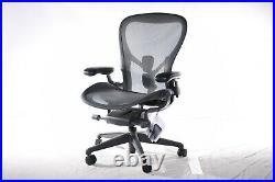 Authentic Herman Miller Aeron Chair Size C DWR