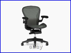 Authentic Herman Miller Aeron Chair, Size C Design Within Reach