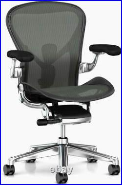 Authentic Herman Miller Aeron Chair Size-C Design Within Reach
