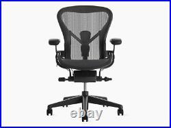 Authentic Herman Miller Aeron Chair, Size-C-Large DWR