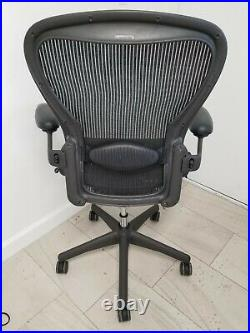 Authentic Herman Miller Aeron Chair, Size C Large Design Within Reach
