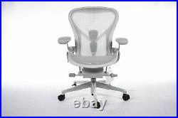 Authentic Herman Miller Remastered Aeron Chair Size B Design Within Reach