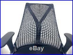 Authentic Herman Miller Sayl Ergonomic Office Chair Black Adjustable Aeron USA
