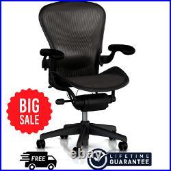BIGSALE Herman Miller Aeron Fully Adjustable Chair Size C FREESHIP