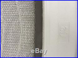 Brand New Herman Miller Aeron chair Seat frame C size-Titanium zinc Gray mesh
