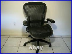 Classic Herman Miller Aeron Ergonomic Office Chair Size C Large Lumbar support