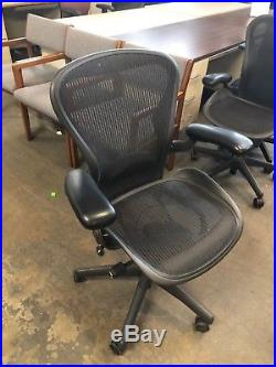 EXECUTIVE CHAIR by HERMAN MILLER AERON SIZE B FULLY LOADED (2003)
