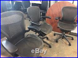 EXECUTIVE CHAIR by HERMAN MILLER AERON SIZE B in GRAFFITI COLOR 2010