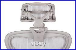 Engineered Now H3 -ZINC- Ergonomic Headrest for Herman Miller Aeron Chair