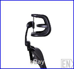 Engineered Now H4 CARBON Headrest Ergonomic Add-on/ Herman Miller Aeron Chair
