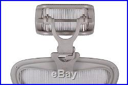 Engineered Now H4 ZINC Headrest Ergonomic Add-on/ Herman Miller Aeron Chair