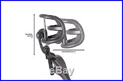 Engineered Now Headrest for Classic Herman Miller Aeron Chair H3 Carbon Colors