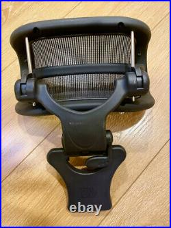 Engineered Now Original H3 Headrest for Herman Miller Aeron Remastered, Graphite