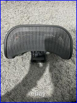 Engineered Now Original Headrest Herman Miller Aeron Chair H3 GRAPHITE NO BOX