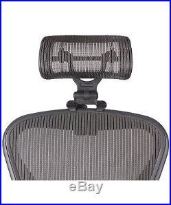 Engineered Now The Original Headrest for Herman Miller Aeron Chair H4 GRAPHITE