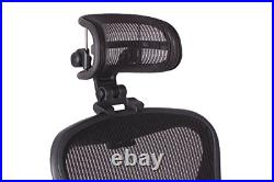 Engineered Now The Original Headrest for The Herman Miller Aeron Chair H3 Carbon