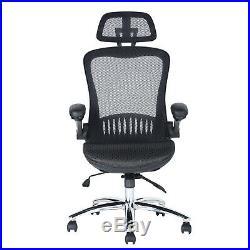 Ergonomic High Back Mesh Herman Miller Aeron Executive Desk Chair Black