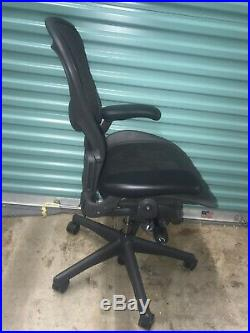 FULLY LOADED Herman Miller Aeron Chair Size B with Lumbar Support
