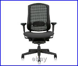 Fully Loaded Herman Miller Celle (Aeron) Chair (gray/blue)