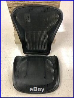 Green Used HERMAN MILLER AERON REPLACEMENT SEAT & BACK FOR SIZE B