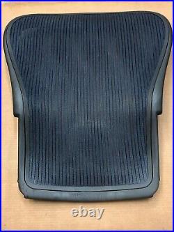 HERMAN MILLER AERON SEAT BACK FOR SIZE C LARGE. Aeron Parts. Dark Blue Color