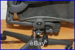 HERMAN MILLER AERON fully adjustable SIZE C. Aeron Chair office Eams