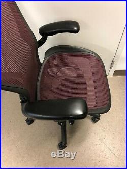 HERMAN MILLER AERON fully adjustable SIZE C Large. Aeron Chair