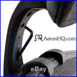 Headrest Genuinely Engineered for Herman Miller Aeron Chair + Free Coat Hanger