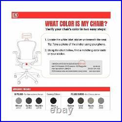 Headrest Herman Miller Aeron Chair H3 Classic Carbon Mesh Match Adjust Comfort
