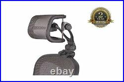 Headrest Herman Miller Aeron Chair H4 Mesh Match Classic Adjustable Comfort New